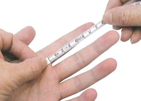 How to measure finger 2 regal prosthesis