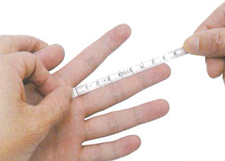 How to measure finger 3 regal prosthesis