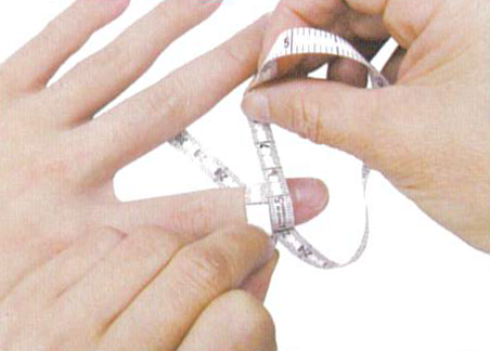 How to measure finger c1 regal prosthesis