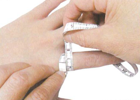 How to measure finger c3 regal prosthesis