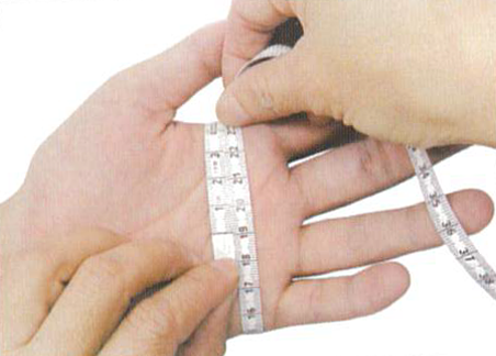 How to measure palm c1 regal prosthesis